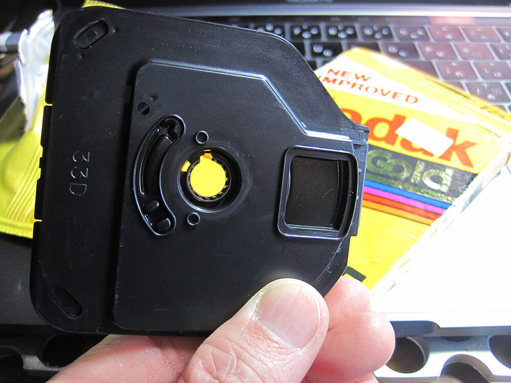 ディスクカメラ